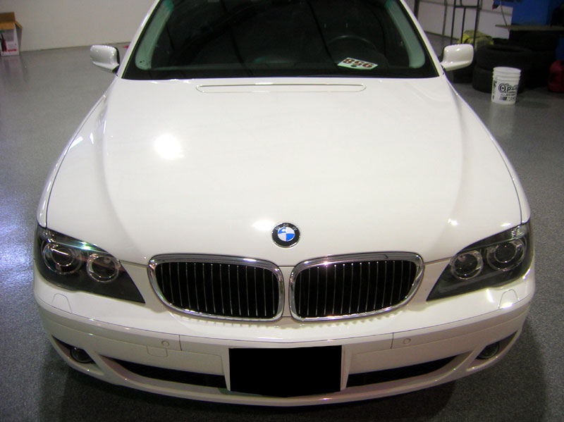 BMW 750i protected with 3M Clear Bra Paint Protection Film