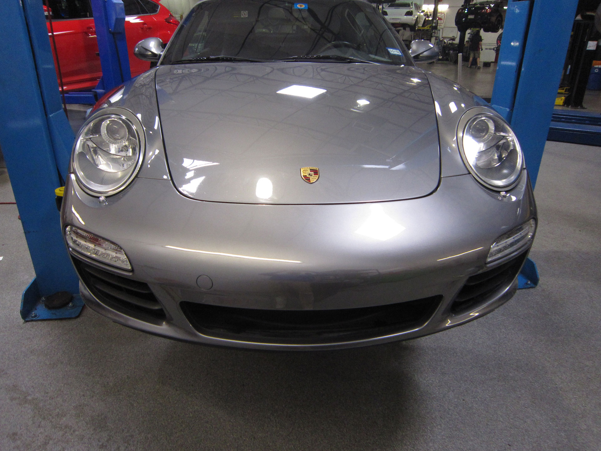 09 Porsche 911 protected by Modern Armor with 3M Clear Bra Paint Protection Film