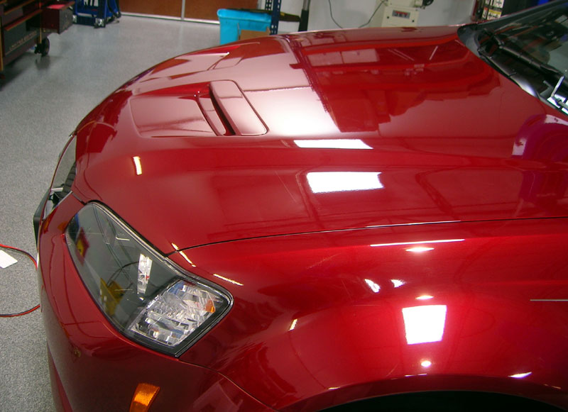Pontiac G8 GT protected with 3M Clear Bra Paint Protection Film