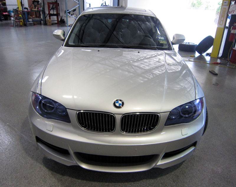 BMW 135i protected with 3M Clear Bra Paint Protection Film