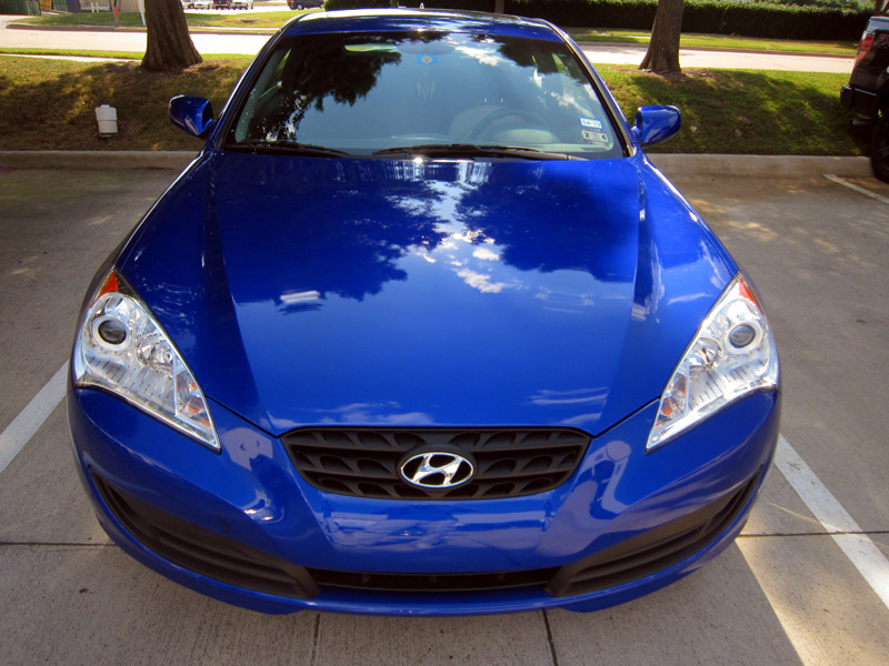 Hyundai Genesis Coupe protected with 3M Clear Bra Paint Protection Film