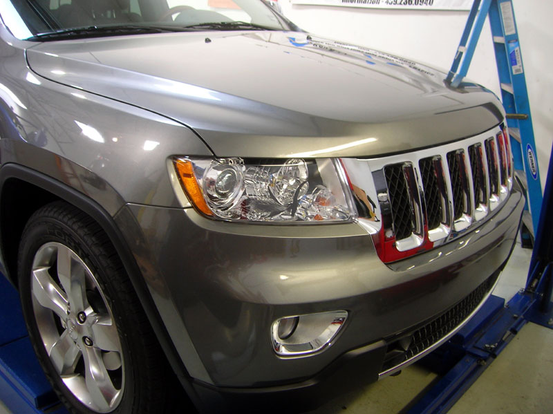 Jeep Grand Cherokee Protected with 3M Paint Protection Film