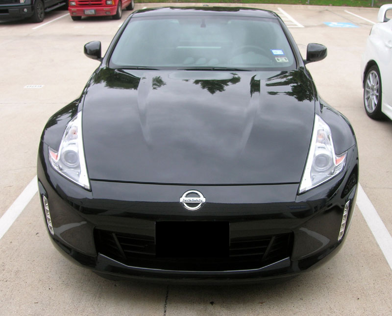 Nissan 370Z protected with 3M Clear Bra Paint Protection Film