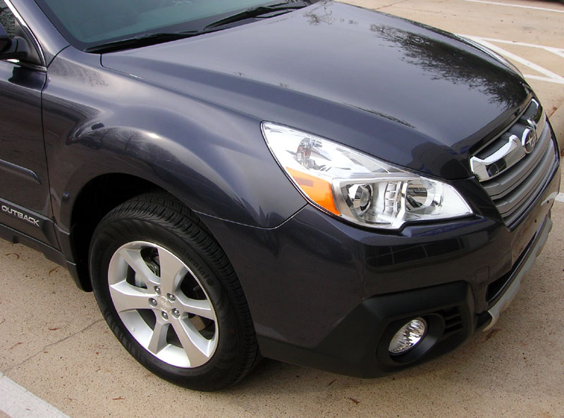 Subaru Outback protected with 3M Clear Bra Paint Protection Film