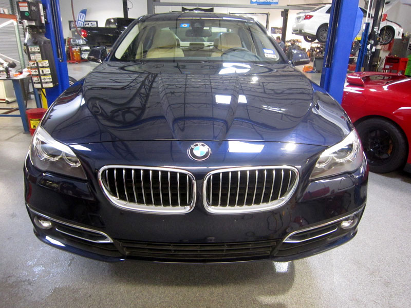 BMW 550i - Level 3 3M Pro Series Paint Protection Clear Bra