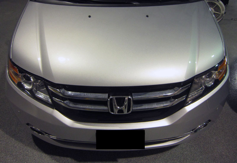 Honda Odyssey 3M Pro Series Clear Bra Paint Protection