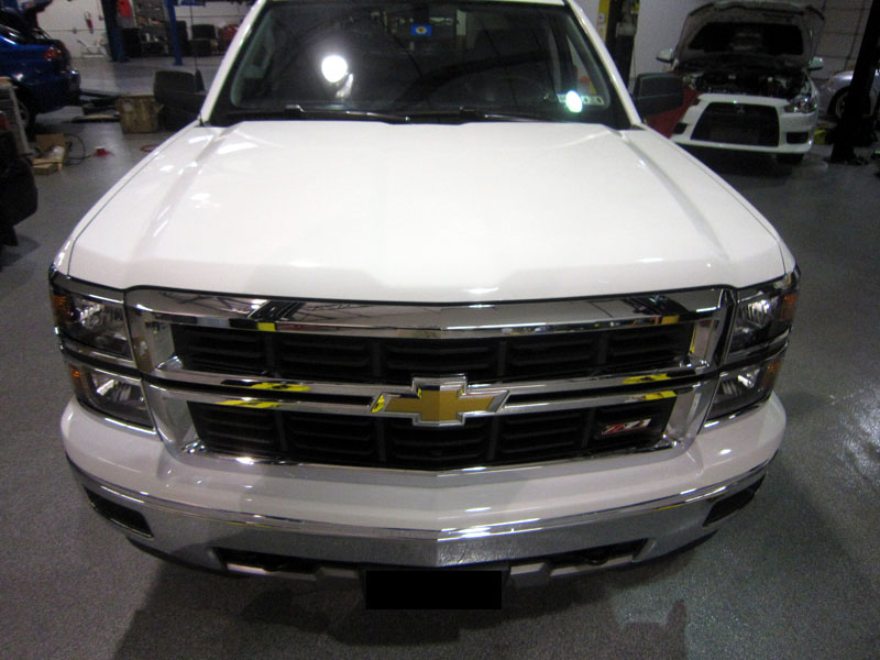 Chrvrolet Silverado 3M Clear Bug Bra Paint Protection