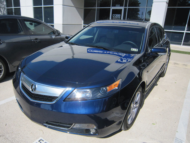 Acura TL 3M Pro Series Clear Bra Paint Protection