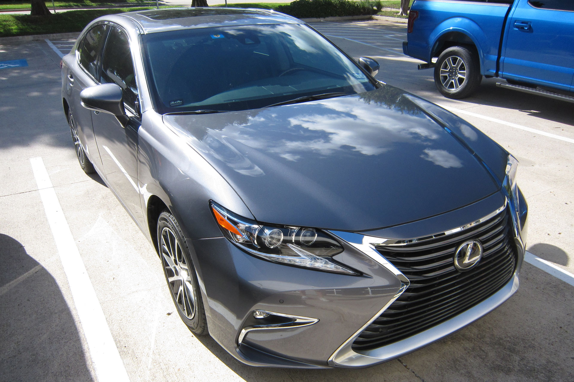 Lexus ES 350 protected with 3M Pro Series Clear Bra Paint Protection Film