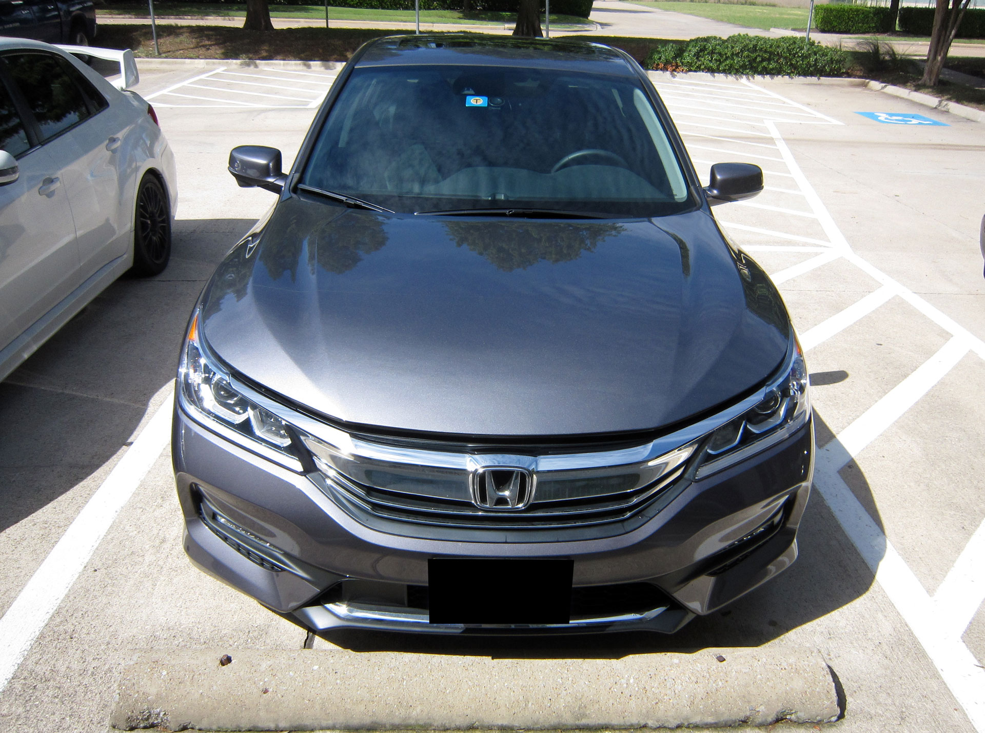 Honda Accord protected with 3M Pro Series Clear Bra Paint Protection Film