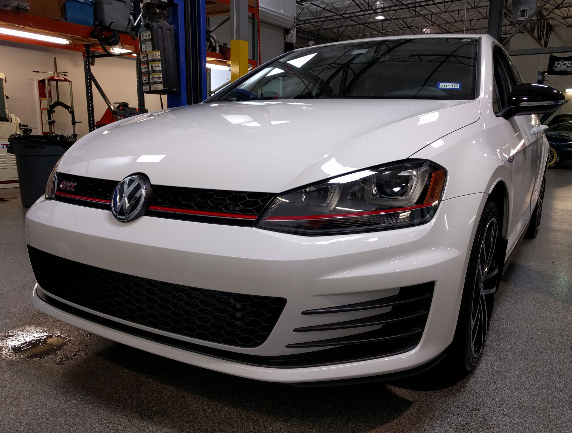 VW GTI protected by Modern Armor with 3M Pro Series Clear Bra Paint Protection Film