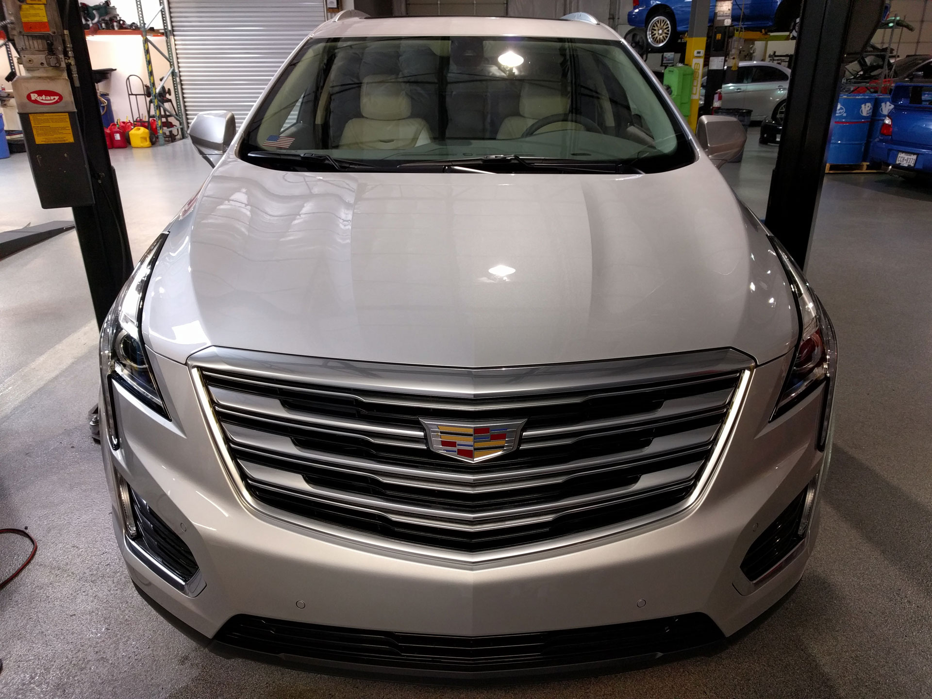 2017 Cadillac XT5 3M Pro Series Clear Bra Paint Protection