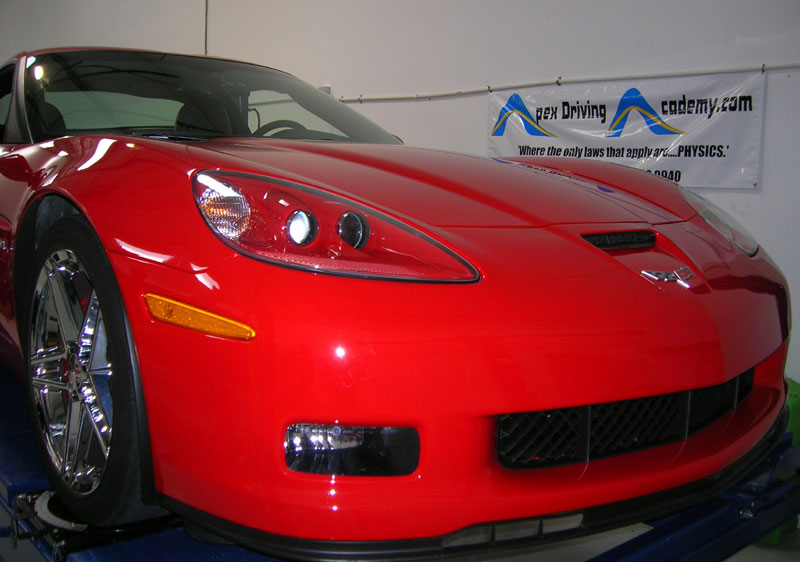 Chevrolet Corvette Z06 protected with 3M Clear Bra Paint Protection Film
