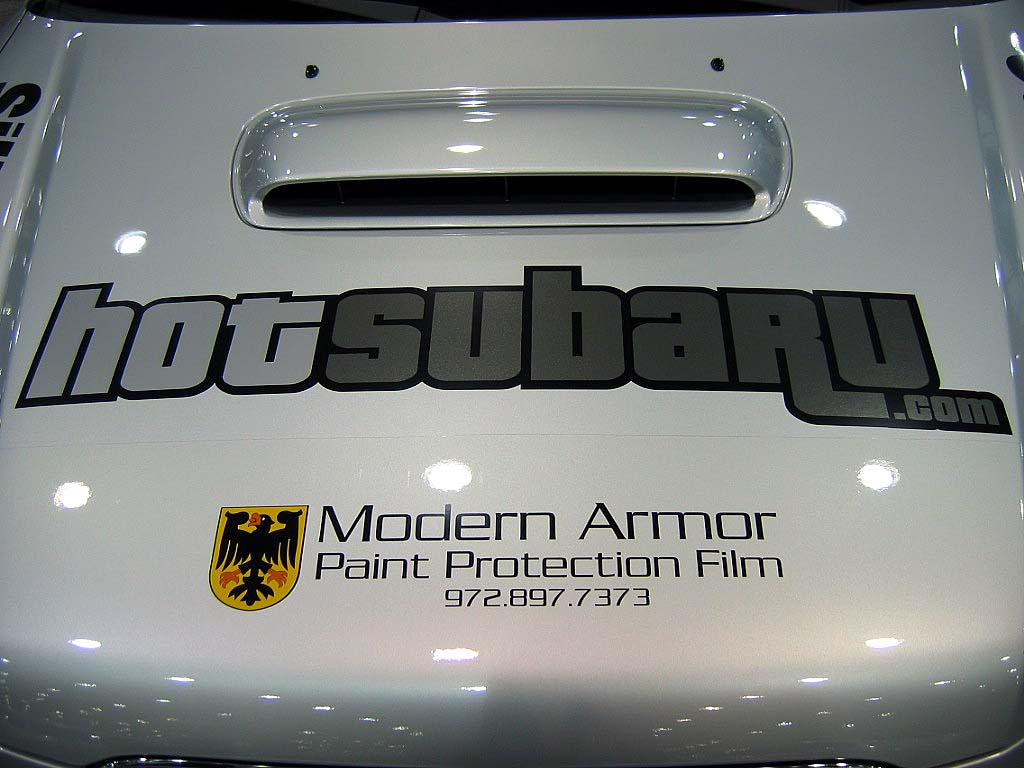 Subaru Forester protected with 3M Clear Bra Paint Protection Film