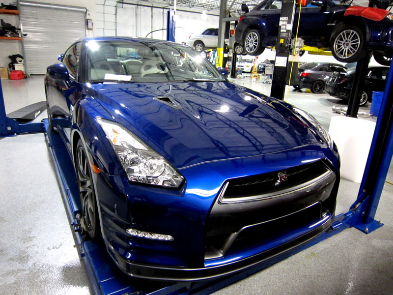 2013 Nissan GT-T protected with 3M Clear Bra Paint Protection Film