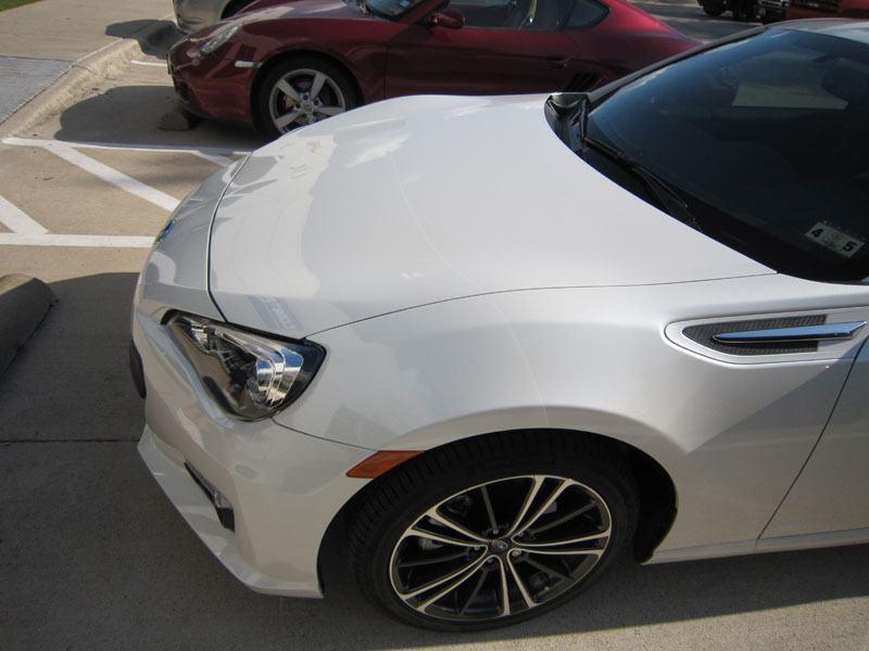 Subaru BRZ - 3M Paint Protection Clear Bra