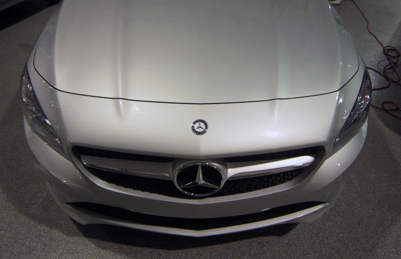 Mercedes CLA 3M Pro Series Clear Bra Paint Protection