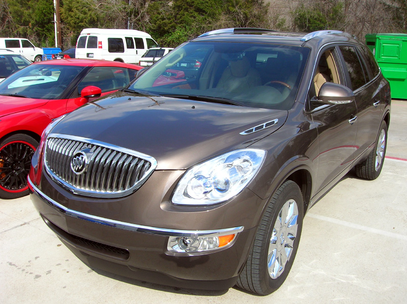 Buick Enclave protected with 3M Clear Bra Paint Protection Film