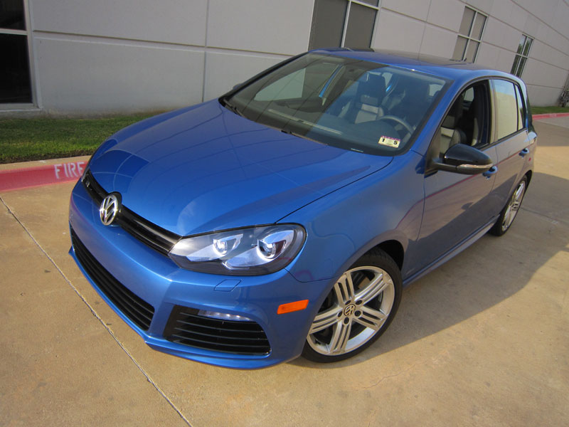VW Golf R protected by Modern Armor with 3M Clear Bra Paint Protection Film