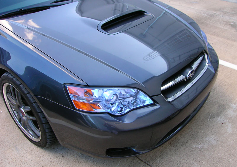 Subaru Legacy GT protected with 3M Clear Bra Paint Protection Film