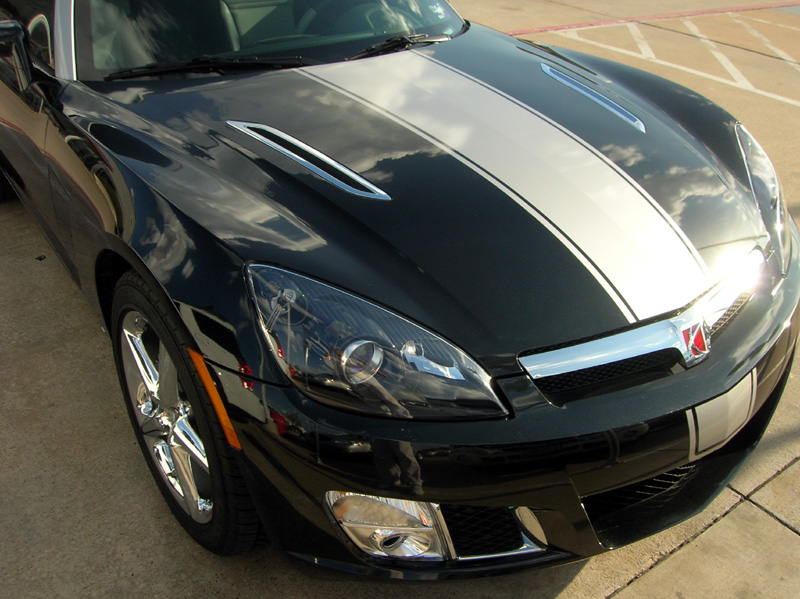 Saturn Sky protected with 3M Clear Bra Paint Protection Film
