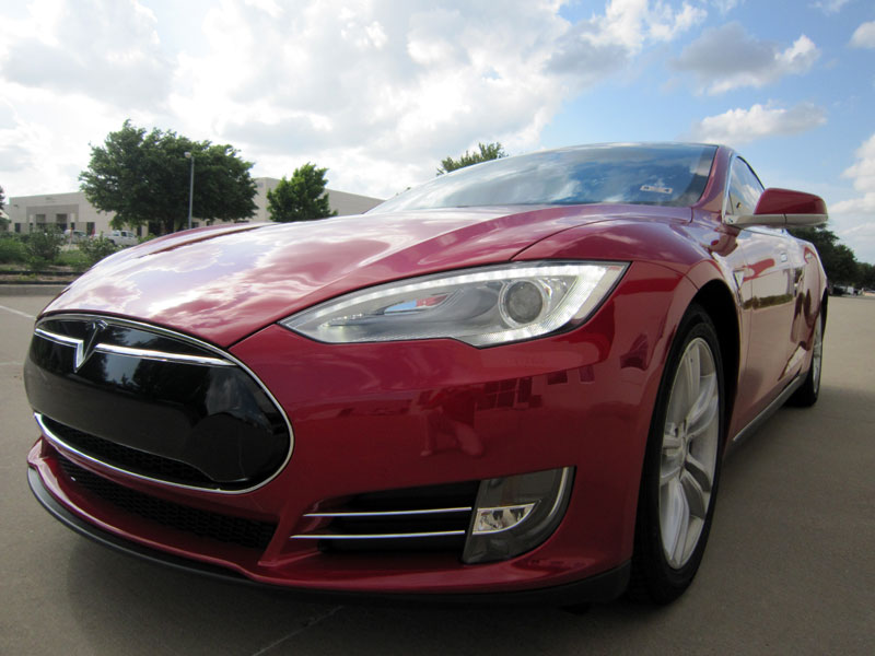 Tesla Model S - 3M Paint Protection Clear Bra