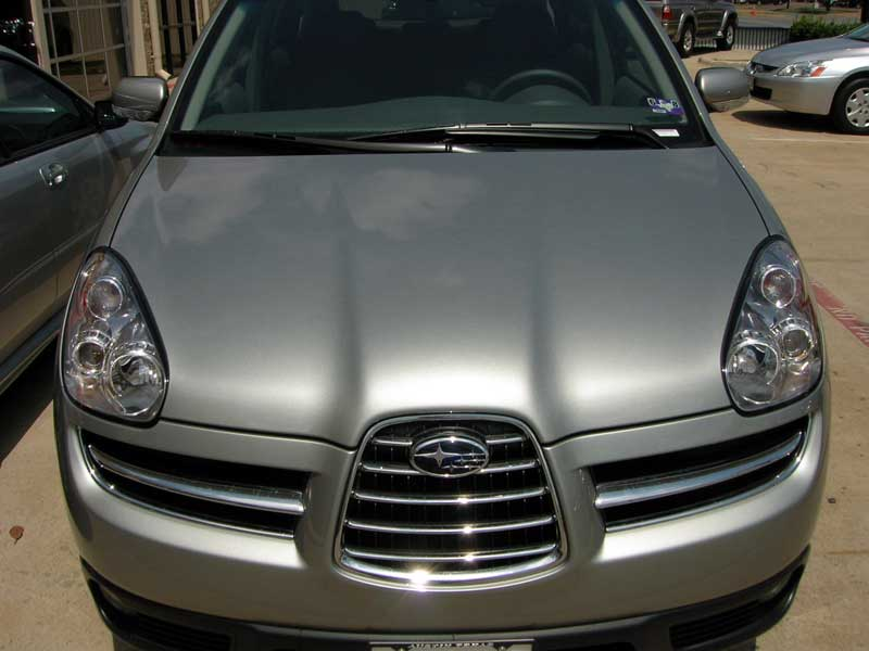 Subaru Tribeca 3M Clear Bra Paint Protection